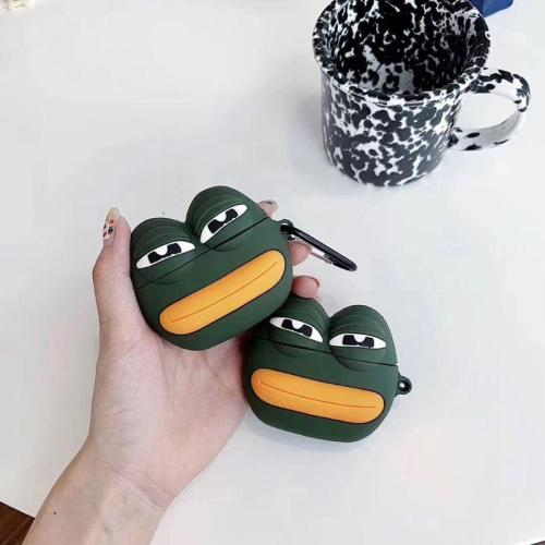 Pepe the Frog AirPods Pro Case Charging Headphones Cases For Airpod Protective Cover
