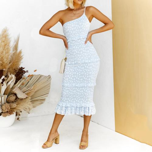 Slim-fit draped bodycon dress