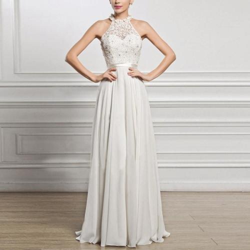 Fashion Sexy Sleeveless Evening Dress