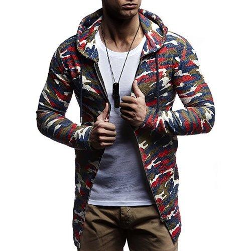Fashion Long Sleeve Mens Outerwear