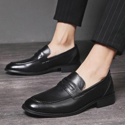 Men Loafers Boat Flats Formal Shoes