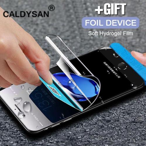 Full Cover Soft Hydrogel Protective Film For IPhone Not Tempered Glass