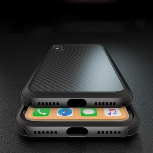 Carbon Fiber Shockproof Slim Cases for iPhone