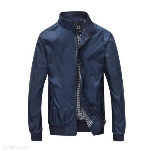 Mens Basic Style Light Jacket