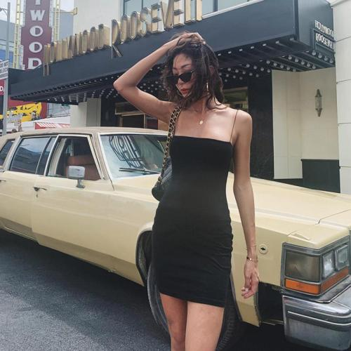 Sundress Sexy Outfits Spaghetti Strap Mini Dress Club Bodycons Dresses Summer Clothes For Women clothing Vestidos Dropshipping