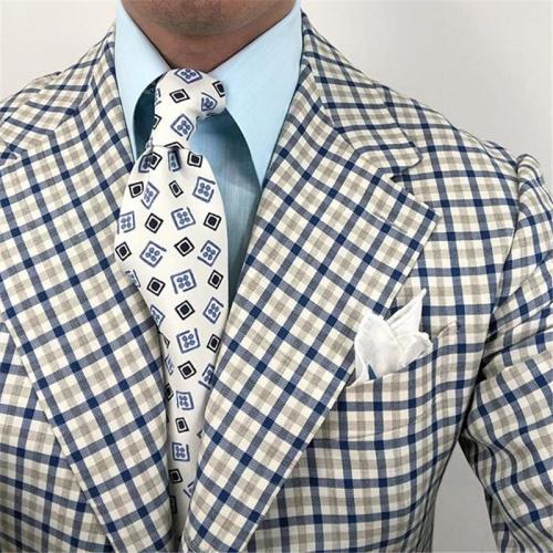 Fashion men's business print tie LH011