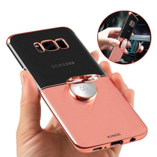 Magnetic Ring Holder PC Cover For Samsung Galaxy