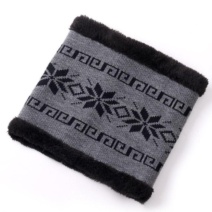 Cotton Add Fur Brim Winter Hats Skullies Beanies Hat For Men Women Wool Caps Mask Gorras Bonnet Knitted Hat
