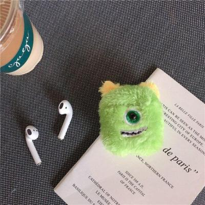 Monster Plush AirPods Case Winter Warm Shockproof Cover 2020 Style