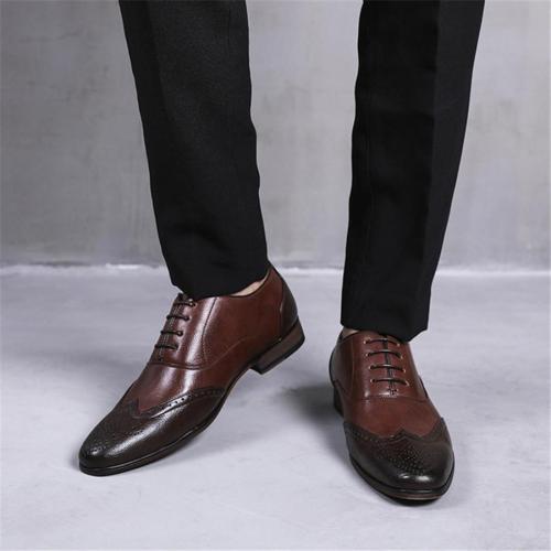 Men's British Style Retro Leather Shoes