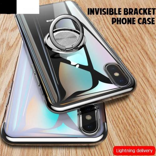 Luxury Magnetic Ring Plating Phone Cases For iPhone