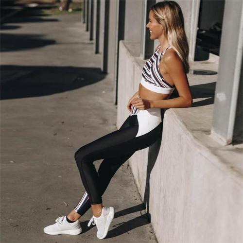 Sports Bra + Leggings Suit Workout Clothes for Women Tracksuit Sportswear Set Yoga Outfit Running Fitness Jogging Sport Gym Wear
