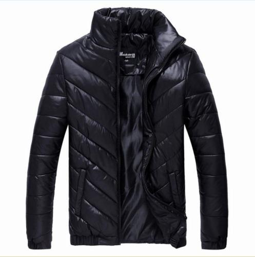 2020 New Brand Autumn Men's Winter Warm Coat Padded Jacket Casual Down Parkas Outwear  mens jackets and Coats Solid Color M- 5XL