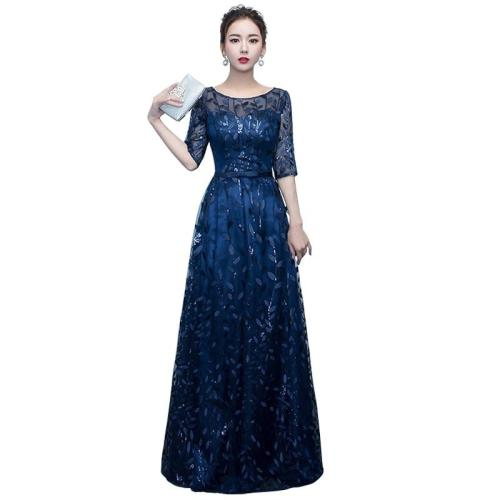 fashion elegant Long evening dress Pretty Sexy sequins evening gown Sparkle Slim Formal Party Gowns dinner evening dresses