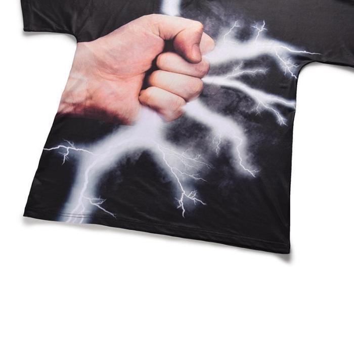 Fun Fist 3D Printed T-shirt