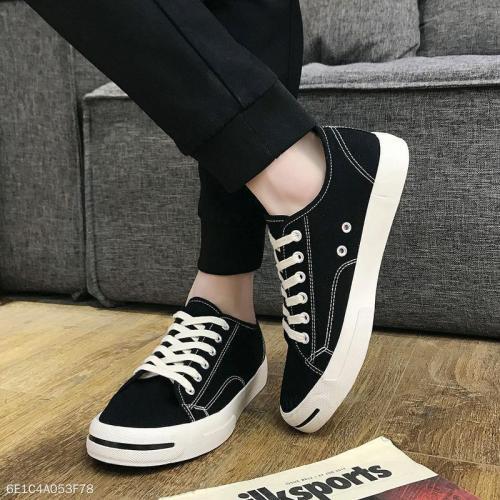 Fashion Casual Canvas Soft Sole Mens Shoes