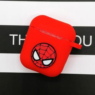 Silicone Cartoon Wireless Earphone Case For Apple AirPods