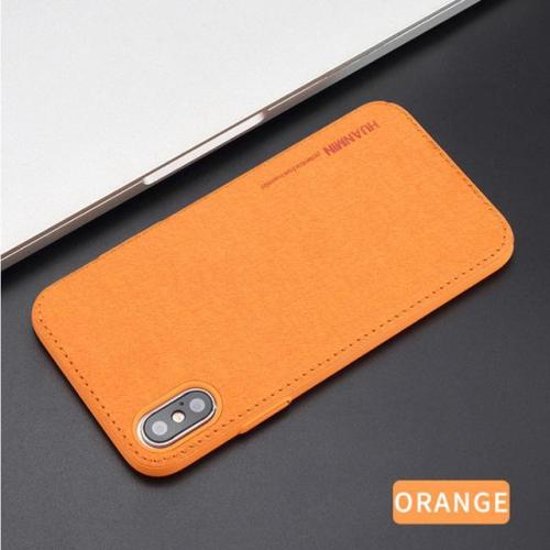 Ultra Thin Fabric Business Case For iPhone