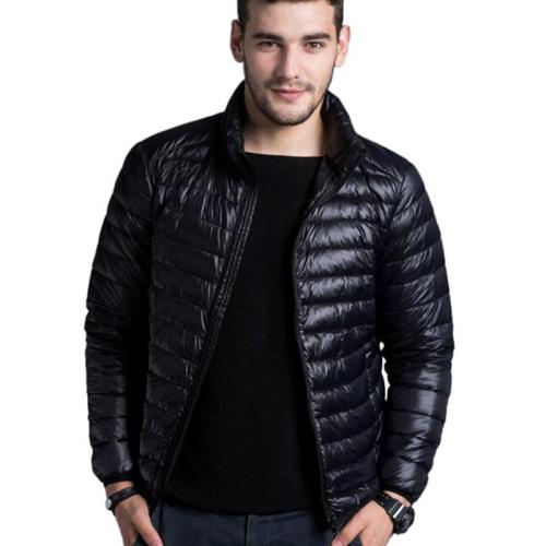 Men's casual warm Jackets solid thin breathable Winter Jacket Mens outwear Coat Lightweight parka Plus size S-5XL hombre jaqueta