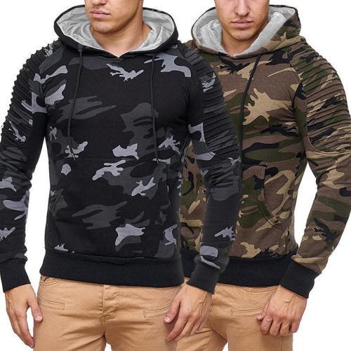 Fashion Long Sleeve Mens Hoodies
