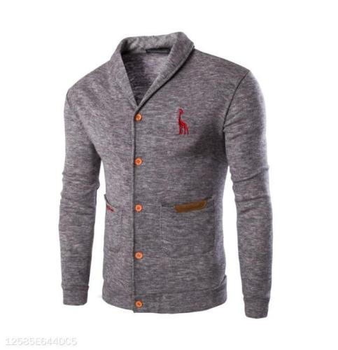 Solid Color Deer Sweater Coat