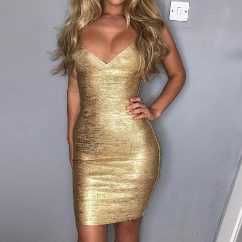 Strapless Bustier Hip Dress