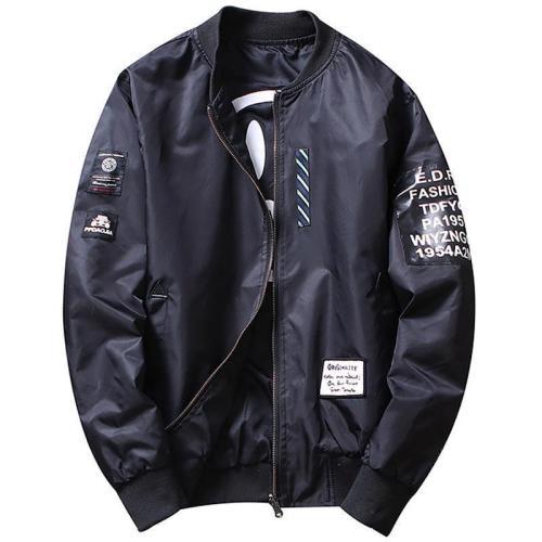 Explosive Men's Double-Faced Jacket Jacket Air Force Suit
