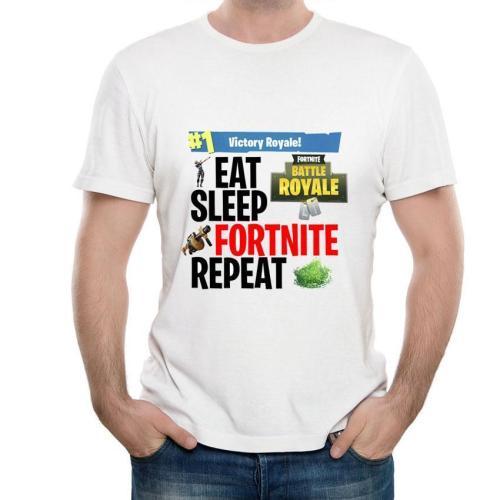 [Fortnite] Printed Simple Short Sleeve T-shirt