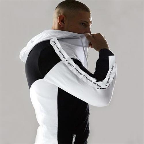 Casual Split Joint Zipper Slim Coat