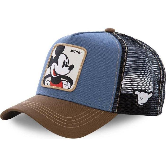 Dragon Ball Mickey Snapback Cotton Baseball Cap Men Women Hip Hop Dad Mesh Hat