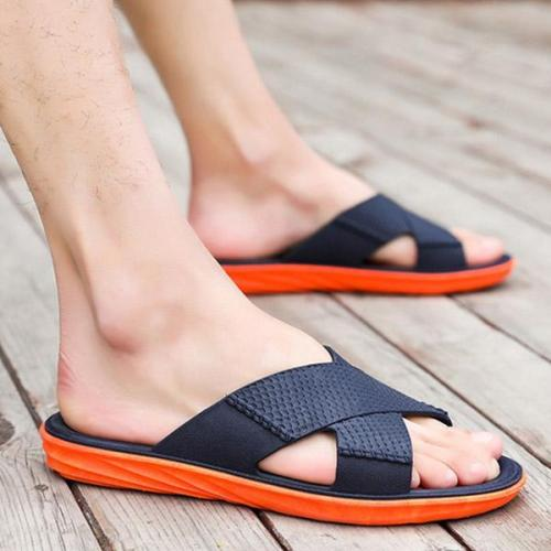 Mens Casual Non-slip Opened Toe Slippers