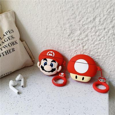 Super Mario AirPods Case Silicone Shockproof Cover