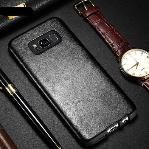 Crazy Horse Texture Leather Case For Samsung