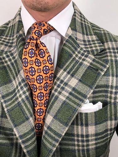 Fashion casual printed tie LH011