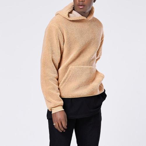Fashion Loose Plain Floss Hoodie