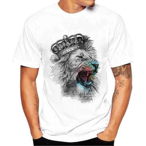 Fashion Simple Round Neck T-shirt