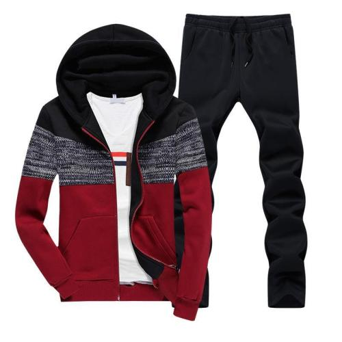 Men's Trend Casual Thickening Sports Suit