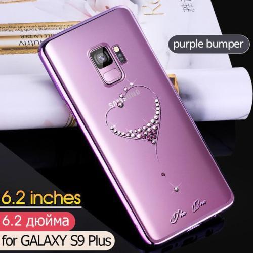 Diamond Rhinestone Case for Samsung Galaxy S9 S9 Plus