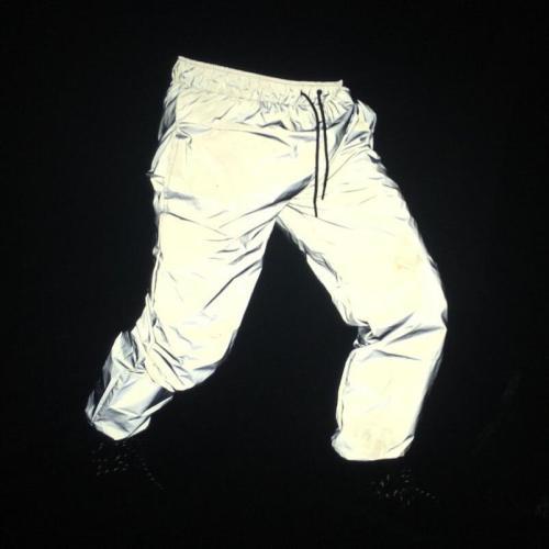 Funny Print Men Reflective Jacket Streetwear Women Brand Hooded Mens Jackets and Coat Night Fluorescence Windbreaker Veste Homme