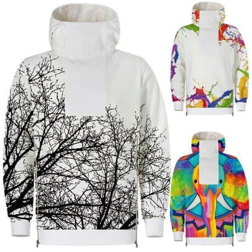 Printing Hooded Sweater Large Size Hoodies