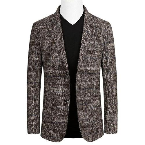 KUYOMENS Brand Spring Autumn Men blazer Fashion Slim Suit jacket Men Business Casual Clothing High Quality Men's Suit Male M-4XL