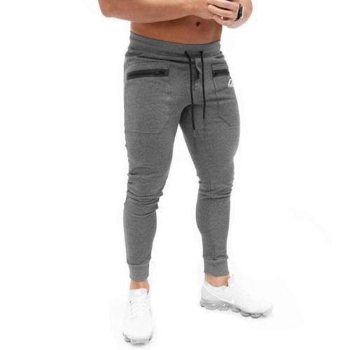 Slim Sports Jogger Pants Gray/Black