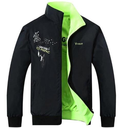 2020 new men's Jacket  Fashion Design Veste Homme Formal double Surface Sided Wear male Brand jacket Solid color coat 4XL 5XL