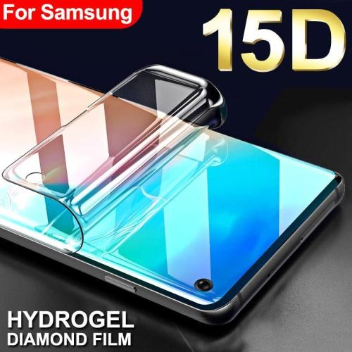 15D Protective Hydrogel Film for Samsung Soft Screen protector( Not Glass)
