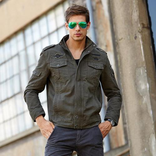 NEW 2020 Mens 3 colors Military jacket %100 cotton winter Cargo coats Plus size M-5XL 6XL Casual man Jackets Army brand clothes