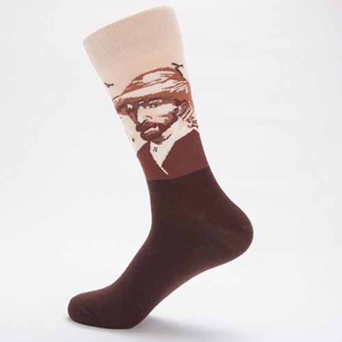 Famous Painting Series Personality Couple Socks