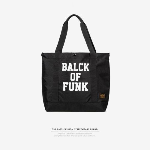Fashion Letter Printed Shoulder Bag