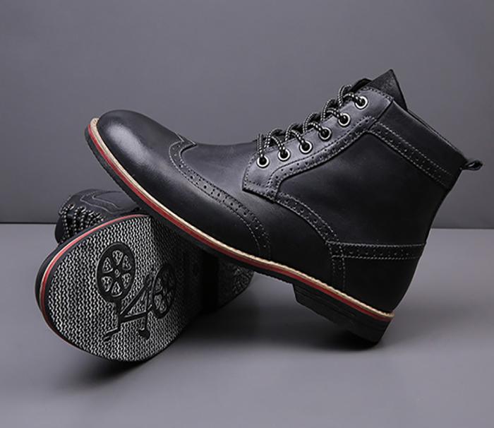 Men's Brock Carved Trend Martin Boots