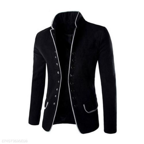 Men's Stand Collar Casual Suit