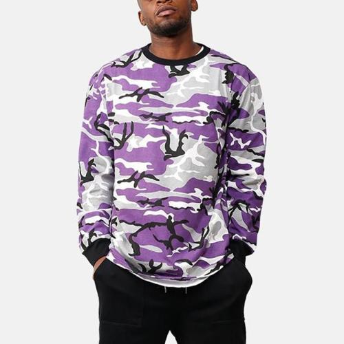 Fashion Mens Camouflage Hip-Hop Sweatshirts